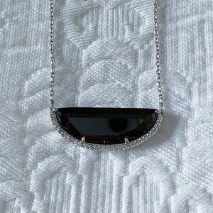 Henri Bendel Black and Silver Necklace